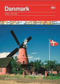 Danmark v�gkarta ()