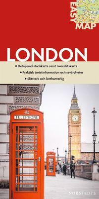 London EasyMap stadskarta : 1:15750 ()