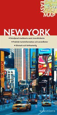 New York EasyMap stadskarta ()