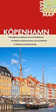 Köpenhamn EasyMap stadskarta : 1:13000