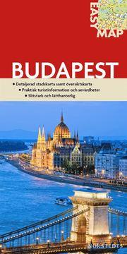 Budapest EasyMap stadskarta : 1:14500