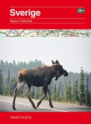 Sverige Vägkarta : Skala 1:12milj
