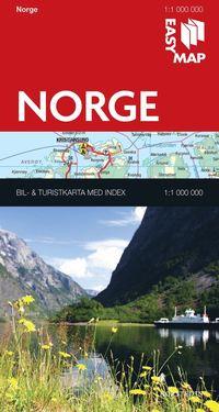 Norge EasyMap : 1:1m ()