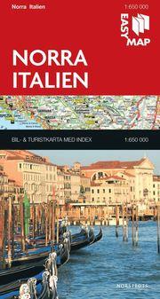 Norra Italien EasyMap : 1:650000