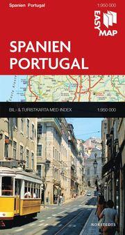 Spanien Portugal EasyMap : 1:950000