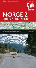 S�dra Norge nord EasyMap : 1:345000