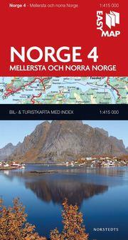 Mellersta och norra Norge EasyMap : 1:415000