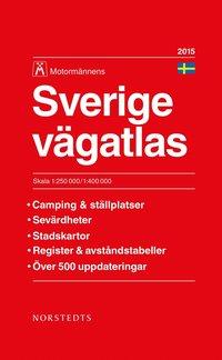 Sverige v�gatlas 2015 Motorm�nnen : 1:250000-1:400000