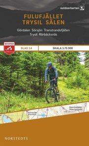 Outdoorkartan Fulufjället Trysil Sälen : Blad 14 skala 1:75000