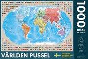 Världen Pussel 1000 bitar