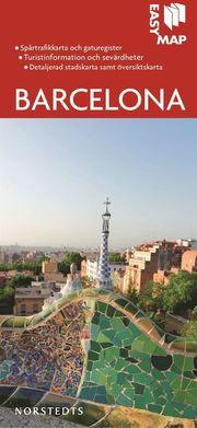 Barcelona EasyMap stadskarta