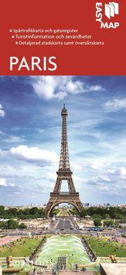 Paris EasyMap stadskarta