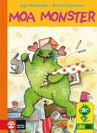 Moa Monster (inbunden)
