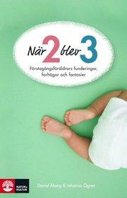 När två blev tre : Förstagångsföräldrars funderingar, farhågor och fantasier (inbunden)