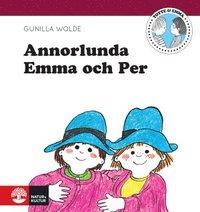 Annorlunda Emma och Per (kartonnage)