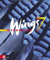 Wings 7 - blue Textbook inkl elev-cd (h�ftad)
