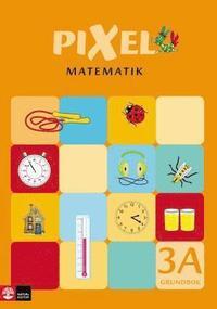Pixel matematik 3A Grundbok (h�ftad)