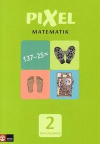 Pixel matematik 2 �vningsbok (h�ftad)