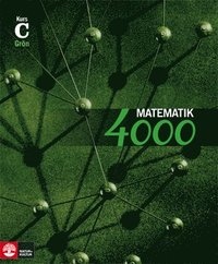 Matematik 4000 Kurs C Gr�n L�robok (h�ftad)