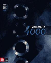 Matematik 4000 Kurs E Bl� L�robok (h�ftad)
