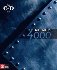 Matematik 4000 Kurs CD Bl� L�robok (h�ftad)