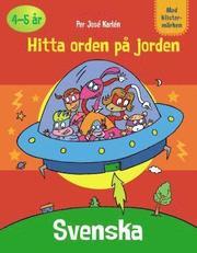 Pysselbok Svenska Hitta orden på jorden