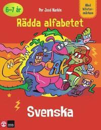 R�dda alfabetet, svenska (h�ftad)