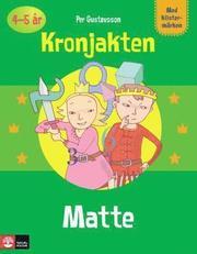Pysselbok Matte Kronjakten