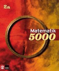 Matematik 5000 Kurs 2a R�d & Gul L�robok (h�ftad)