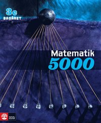 Matematik 5000 Kurs 3c Bl� Bas�ret L�robok (h�ftad)