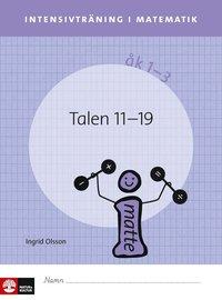 Intensivtr�ning i matematik �k 1-3 Talen 11-19, elevh�fte (h�ftad)