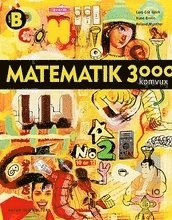 Matematik 3000 f�r komvux: Komvux kurs B l�robok (h�ftad)