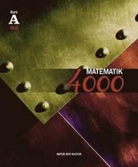 Matematik 4000 Kurs A R�d L�robok (h�ftad)