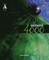 Matematik 4000 kurs A Gr�n l�robok (h�ftad)
