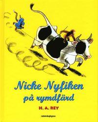 Nicke Nyfiken p� rymdf�rd (kartonnage)