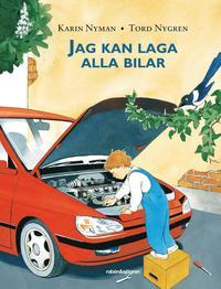 Jag kan laga alla bilar (kartonnage)