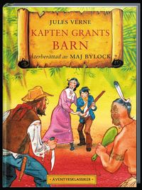 Kapten Grants barn (h�ftad)