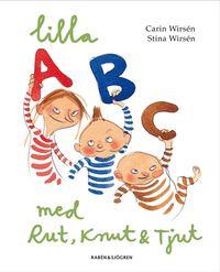 Lilla ABC med Rut, Knut & Tjut (kartonnage)