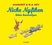 Nicke Nyfiken hittar hundvalpar (kartonnage)