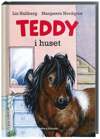 Teddy i huset (kartonnage)
