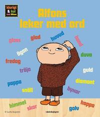 Alfons leker med ord (kartonnage)