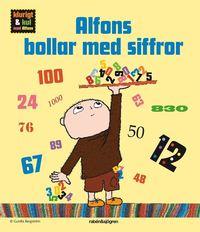 Alfons bollar med siffror (kartonnage)