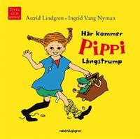 H�r kommer Pippi L�ngstrump (kartonnage)