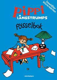 Pippi L�ngstrumps pysselbok bl� (inbunden)