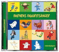 Barnens favorits�nger : 15 favorits�nger (ljudbok)