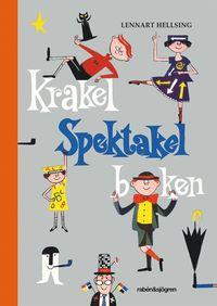 Krakel Spektakel-boken (kartonnage)