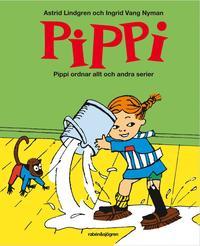 Pippi ordnar allt och andra serier (kartonnage)