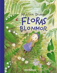 Floras blommor - Minibok (kartonnage)