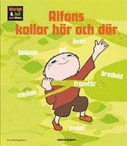 Alfons kollar h�r och d�r (kartonnage)