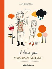 I love you Viktoria Andersson (kartonnage)